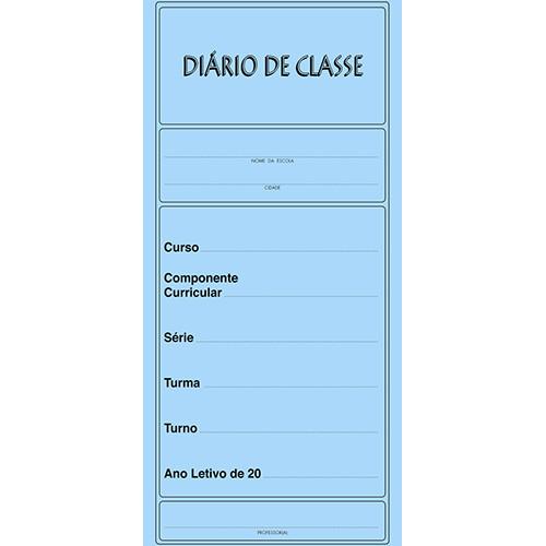 Diário de Classe - Mensal 14F