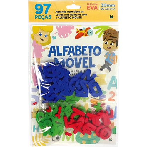 Escolinha Todolivro - Alfabeto Móvel: Letras e Números