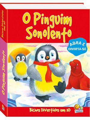 Bichos Divertidos em 3D – O Pinguim Sonolento