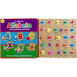 Peças Para Encaixar - O Livro do Alfabeto