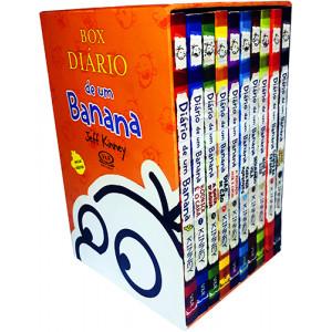 Box Diário de Um Banana - Vol. 1~10 (Jeff Kinney)
