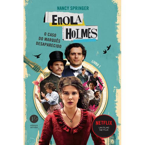 Enola Holmes: O Caso do Marquês Desaparecido (Nancy Springer)