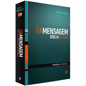 Bíblia A Mensagem - Capa Dura - Luxo (Eugene H. Peterson)